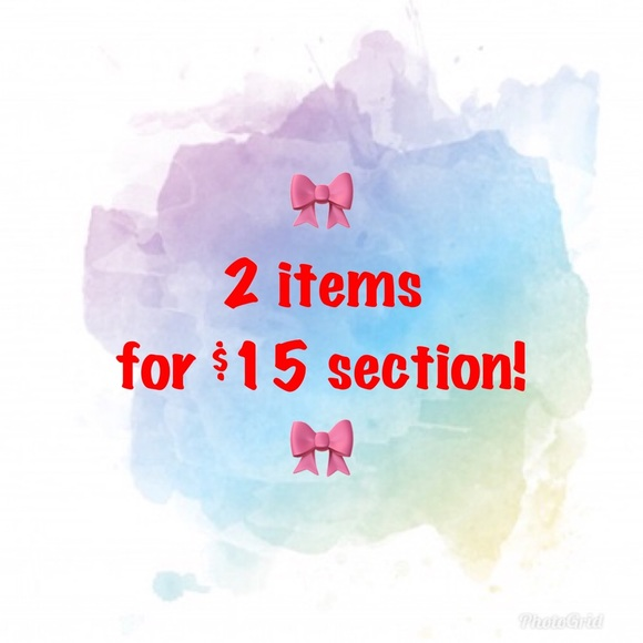 Other - 2 items for $15!